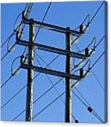 Pylon 21 Canvas Print