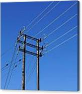 Pylon 23 Canvas Print