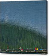 Pyramid Island Bridge Canvas Print