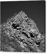 Pyramid Of Rock Canvas Print
