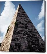 Pyramid Of Rome II Canvas Print