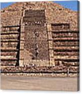 Pyramid Of The Moon Panorama Canvas Print