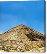 Pyramid Of The Sun Canvas Print
