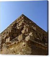 Pyramids Of Giza 20 Canvas Print