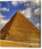 Pyramids Of Giza 28 Canvas Print