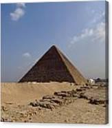Pyramids Of Giza 30 Canvas Print