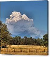 Pyrocumulus Cloud 08 18 12 Canvas Print