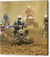 Quad Race Canvas Print