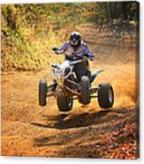 Quad Rider  Canvas Print