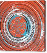 Quadrospora Canvas Print