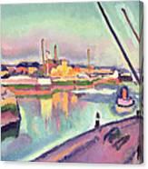 Quai Notre Dame Le Havre Canvas Print