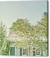 Quaint Home Canvas Print