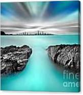 Quantum Divide Canvas Print