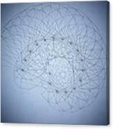 Quantum Nautilus Spotlight Canvas Print
