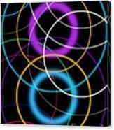 Quantum Physics, Conceptual Artwork Canvas Print
