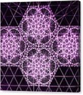 Quantum Snowfall Canvas Print