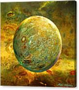 Quantum Soul...orb Of Light Canvas Print