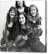 Quartet Of Muses Canvas Print