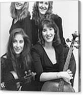 Quartet Of Muses II Canvas Print