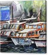 Quayside Canvas Print