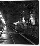 Quebec Night Canvas Print