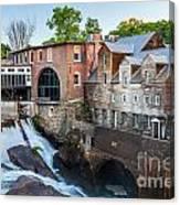 Quechee Village Mill Canvas Print