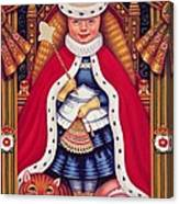 Queen Alice, 2008 Oil And Tempera On Panel Canvas Print