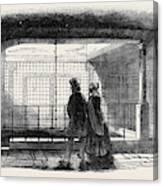 Queen Annes Bath Canvas Print