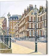 Queen Annes Gate Oil On Canvas Canvas Print