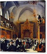 Queen Caroline Trial, 1820 Canvas Print