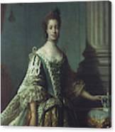 Queen Charlotte (1744-1818) Canvas Print