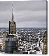 Queen City Winter Wonderland After The Storm Series 0012 Canvas Print