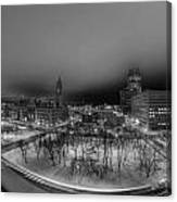 Queen City Winter Wonderland After The Storm Series 0018a Canvas Print