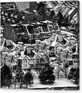 Queen City Winter Wonderland After The Storm Series 0028a Canvas Print