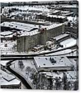 Queen City Winter Wonderland After The Storm Series 008 Canvas Print