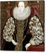Queen Elizabeth I (1533-1603) Canvas Print