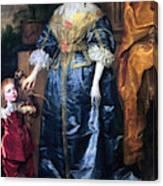 Queen Henrietta Maria (1609-69) Canvas Print
