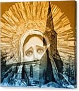 Queen Of Angels Canvas Print