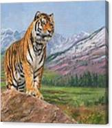 Queen Of Siberia Canvas Print