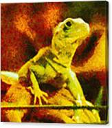 Queen Of The Reptiles Canvas Print