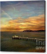 Queen Of The Welsh Resorts Canvas Print