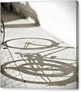 Queen St. Bicycle Canvas Print