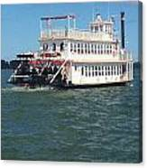 Queen Victoria Ferry Canvas Print