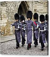 Queens Guard Canvas Print