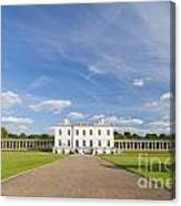 Queen's House In Greenwich Canvas Print