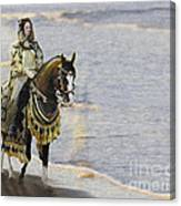 Queens War Horse Canvas Print