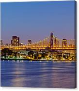 Queensboro Bridge 59th Street Nyc Canvas Print