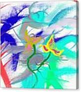 Quetzalcuath Plant Canvas Print