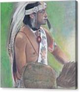 Wampanoag Dancer Canvas Print