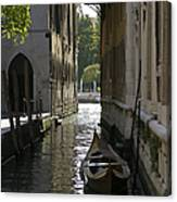 Quiet Canal In Venice Canvas Print